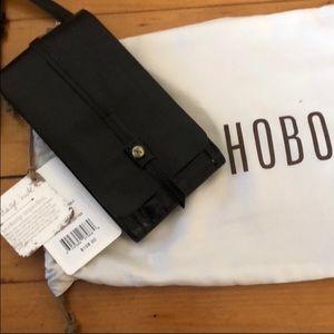 Hobo Token Crossbody - Black